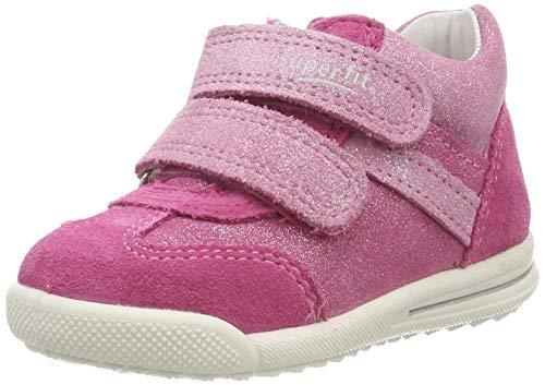 Superfit Baby-Mädchen Avrile Mini Lauflernschuhe, Pink (Rosa 55), 21 EU