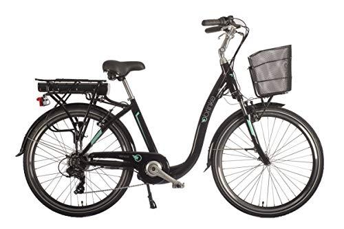 Brinke Bicicletta Elettrica Venice (Nero, XS)