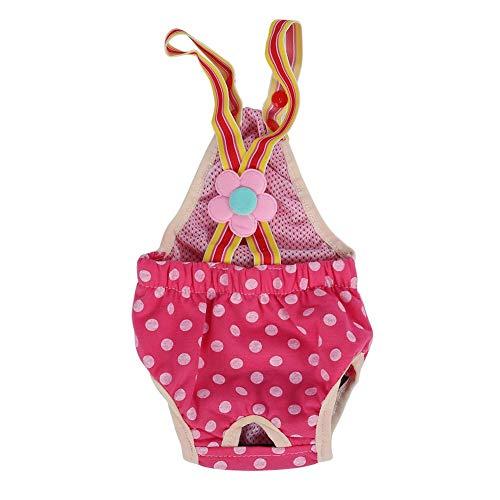 Vrouwelijke hond luier, vrouwelijke hond hygiënische broek luier fysiologische sanitaire menstruatie jarretel ondergoed broek, 6 maten(8号(XS) 建议销售将所有的颜色属性同时上架)