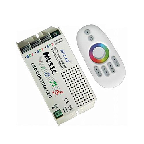 2.4G Music LED Controller RF Wireless Remote Control Wifi Music Dimmer for 5050 3528 5630 RGB Flexible LED Strip Light