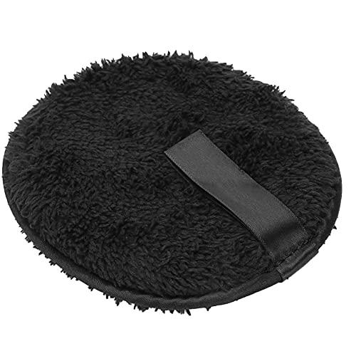 Coton Noir de Qualité Supérieure Réutilisable pour le Visage, Tampon de Démaquillage pour Femme et Fille, Accessoire de Beauté Doux et Doux pour la Conception des Ongles, Enlever et Soin du Visage