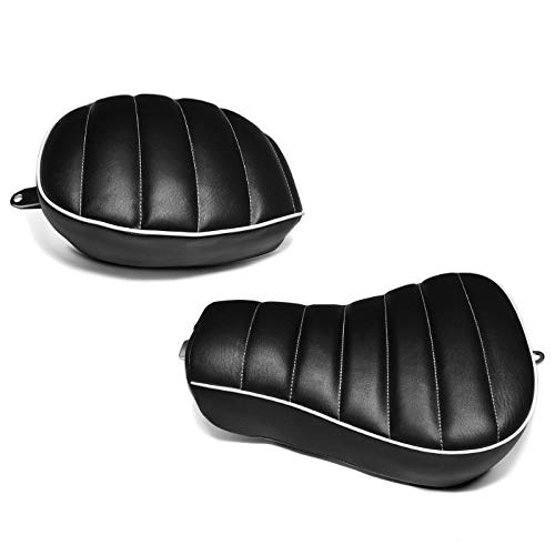 Asiento monoplaza para Harley Sportster 1200 CB Custom 13-17 Craftride RK2 Solo