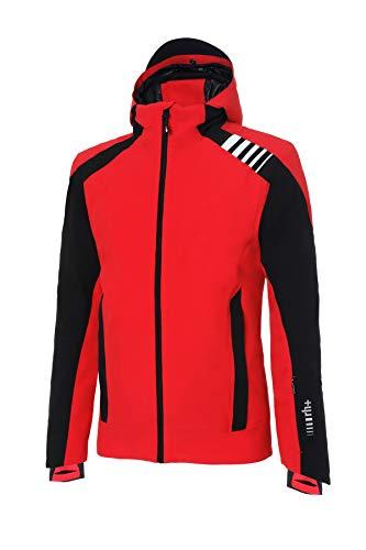Zero Rh+ Furggen, Abbigliamento Man Snow Jacket Uomo, Red/Black/White, S