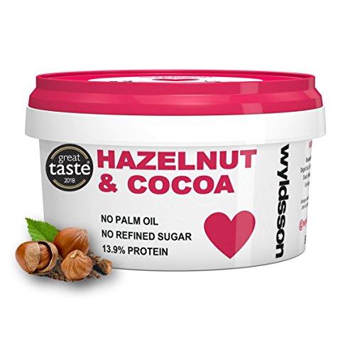 Hazelnut & Cocoa Nut Butter (500g) No Palm Oil, No Added Sugar, Dairy Free, Vegan, Chocolate Spread, Great Taste Award