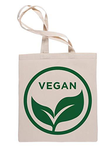 Vegan Reusable Tote Shopping Bag