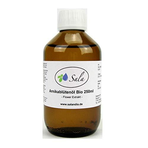 Sala Arnikaöl Arnikablütenöl bio 250 ml Glasflasche