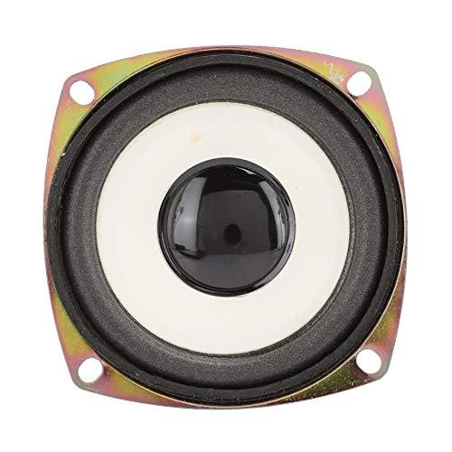 Pusokei Altavoz de Audio de frecuencia Completa de 3 Pulgadas Altavoz 4ohm 5W Sonido Envolvente estéreo de Alta sensibilidad para Caja de Sonido Multimedia