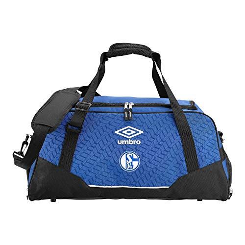 FC Schalke 04 Sporttasche - M blau - Wochenendtasche, Reisetasche, Tasche S04 Plus Lesezeichen I Love Gelsenkirchen