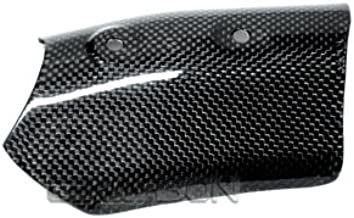 Ducati 1098 848 1198 100/% Carbon Fiber Upper Heat Shield Exhaust Pipe Guard