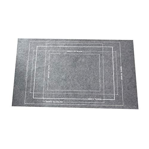 Wenxiaw Guarda Puzzle Porta Puzzle Rompecabezas Portátil Mat Puzzle Mat Tapiz Puzzle Manta de Rompecabezas Puzzle Roll para Transportar Guardar Puzzles hasta 1500 Piezas, Gris (116 X 66Cm)