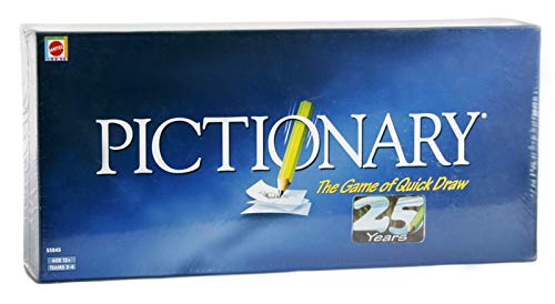 Mattel Pictionary – The Game of Quick Draw, Blue