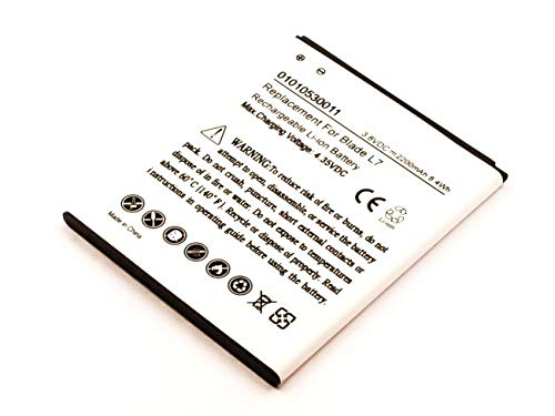 AccuCell - Batería de Ion de Litio para ZTE Blade L7 (3,8 V, 2200 mAh, 8,4 WH)