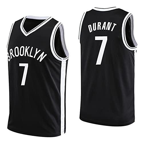 CGXYHLZ Kevin Durant # 7 - Camiseta de Baloncesto de la NBA Brooklyn Nets Jersey para Hombre Camiseta de Baloncesto para Adultos Camiseta para Hombre con Transpirable Y Resistente al Desgaste