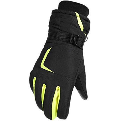 Black Temptation Skifahren Handschuhe Warme Wasserdichte Handschuhe Ski Gear Fahrradhandschuhe, 10