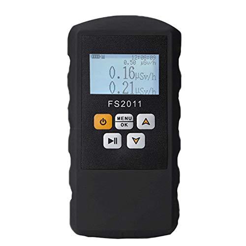 Etase FS2011 Detector de RadiacióN Contador Geiger Rayos Beta X Gamma con Herramienta de Prueba de MáRmol de Alarma Pantalla LCD Detector Radiactivo