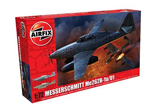 Airfix A04062 1/72 Messerschmitt Me262-B1a Modellbausatz, verschieden, 1:72 Scale