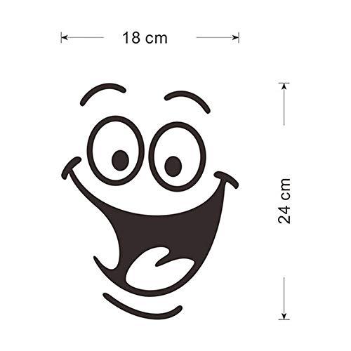 Badkuipstickers 1 St Glimlach Gezicht Wc Stickers Diy Gepersonaliseerde Meubels Decoratie Vliegtuig Muurstickers Koelkast Wasmachine Badkamer Sticker