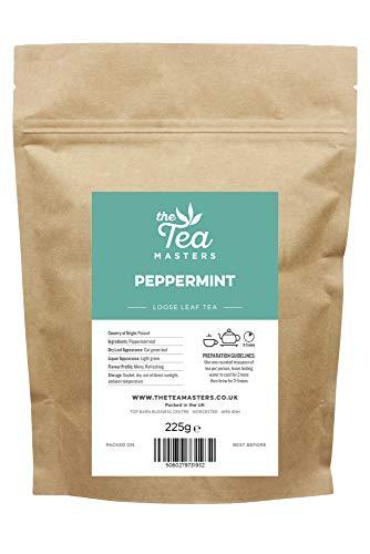 Tea Masters thé feuilles en vrac menthe poivrée 225g