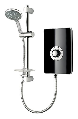 Triton Collection II 8.5kW Electric Shower - Black Gloss by Triton Showers