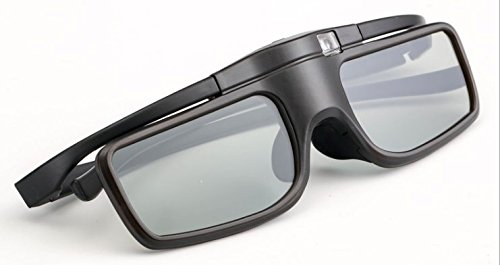 Lightest Weight with Newest Upgrades Rechargeable RF/Bluetooth Active 3D Glasses for 2012/2013 Panasonic 3D TVs,Compatible with Panasonic TY-ER3D4MU 3D Glasses