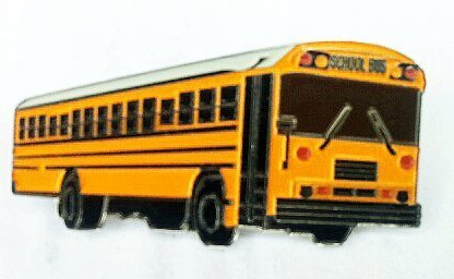 Bluebird AAfe Early Version School Bus Pin