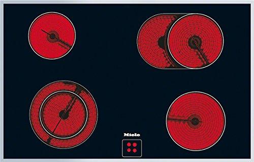 Miele KM 6031 herdgesteuertes Elektro-Kochfeld / Glaskeramik / Breite: 79,4 cm, HiLight-Beheizung, Restwärmeanzeige