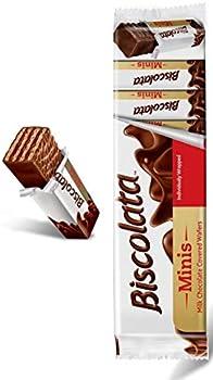 54-Count Biscolata Minis Milk Chocolate Wafer Bars