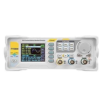 Signal Generator,FY6900-60M 60MHz Multi-Functional Digital Signal Generator Counter Frequency Meter