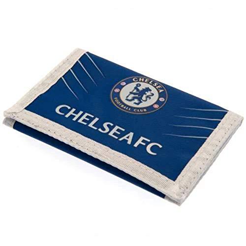 Chelsea F.C. Geldbörse aus Nylon, offizielles Lizenzprodukt