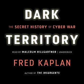 Dark Territory audiobook cover art