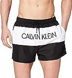 Calvin Klein Short Drawstring Bañador, Negro (PVH Black BEH), M para Hombre
