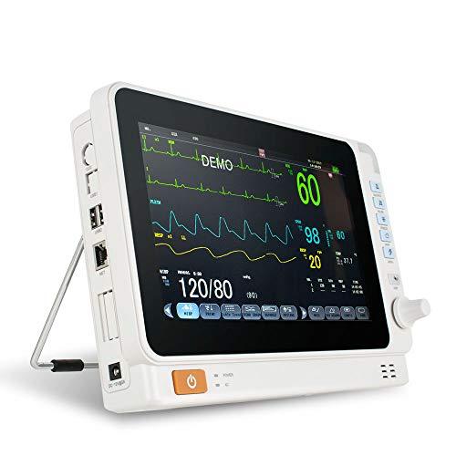 Denshine Électrocardiogramme 10 Pouces ECG EKG Machine Signe de...