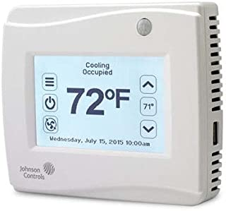 Johnson Controls TEC3630-00-000 Thermostat, 5 in, 4 Out, No Sensor/Dehum