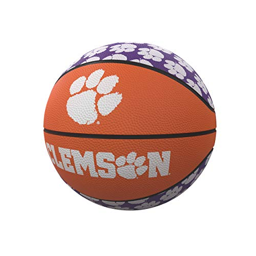 Lowest Price! logobrands NCAA Clemson Tigers Unisex Repeating Mini-Size Rubber Basketball, Miniature...