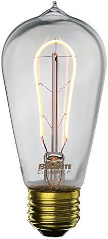 Bulbrite Curved LED Filament ST18 Nostalgic Hairpin Edison Light Bulb 25 Watt Equivalent 2200K product image