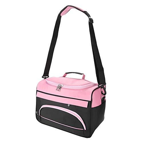 banapo Friseurwerkzeuge Große Kapazität Tragetaschen mit Mehreren Taschen, Tragetaschen für Reisende Frauen(Rose pink)