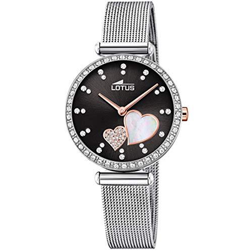 Lotus 18616/4 - Reloj Analógico para Mujer, de Cuarzo con Correa en Acero Inoxidable