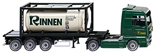 Wiking 053601 - Tankcontainersattelzug 20`(MAN TGX)