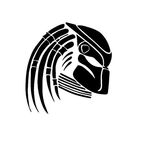 Csfssd Personalized car Stickers Predators Muster künstlerisch dekorative Fenster Abziehbilder Auto-Autoaufkleber Kofferraum (Color : Black)