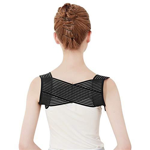 DSMYYXGS Corrector De Postura De Espalda Cinturón Corrector De Postura De Espalda Hombro Espalda Lumbar Corrección De Postura for Hombres Y Mujeres (Size : Medium)