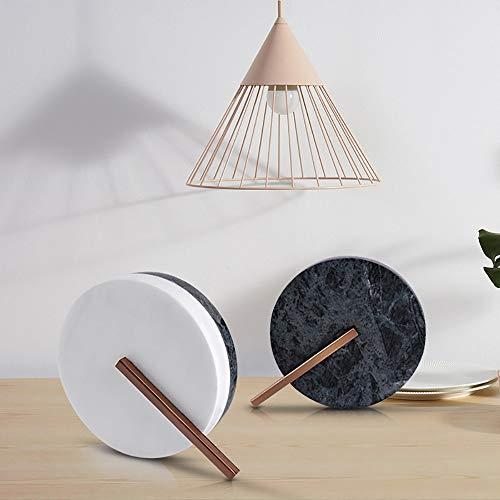 Sebasty Ornamente Moderne Rundschmiedeeisen Marmor Modell Hauseingang Schlafzimmer Studie Dekoration Marmor Handwerk Dekoration