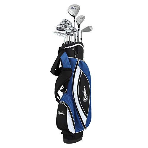 Confidence GOLF Mens POWER Hybrid Club Set & Stand Bag is the best choice