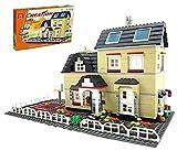 ZT 815 piezas de construcción de bloques de construcción Serie de villas, bricolaje Ladrillos Arquitectura Modelo Modelo de construcción Juguetes educativos Regalo para adultos y niños, compatible