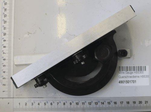 Scheppach 4901501701accesorios/corte transversal, compatible con–Sierra de cinta para la hbs300Rango de ajuste...
