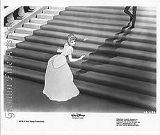 """Cinderella"" Lobby Card Publicity Still - Walt Disney - Cinderella Loses her Glass Slipper"