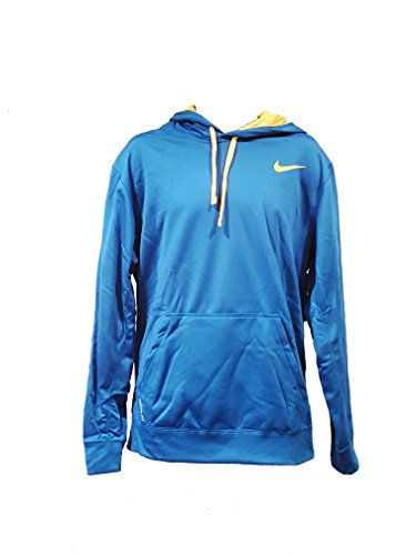 Nike KO 2.0 Men's Training Hoodie (X-Large, Blue and Orange)
