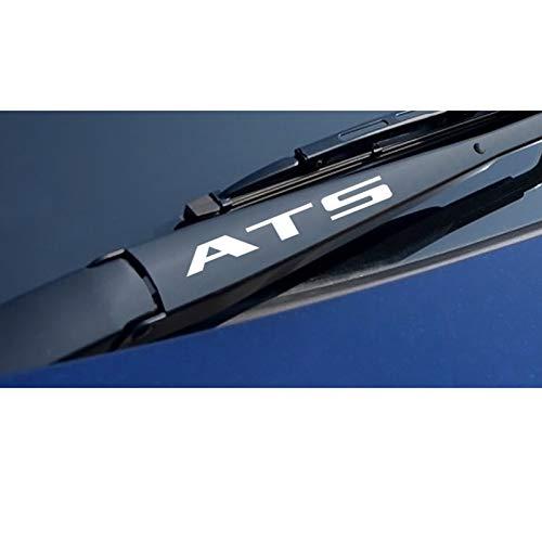 SLONGK Für Cadillac ATS Cts Escalade XTS XT4 XT5 CT6, Autozubehör 4PCS Auto Sport Aufkleber Auto Fensterwischer Reflektierende Vinylaufkleber