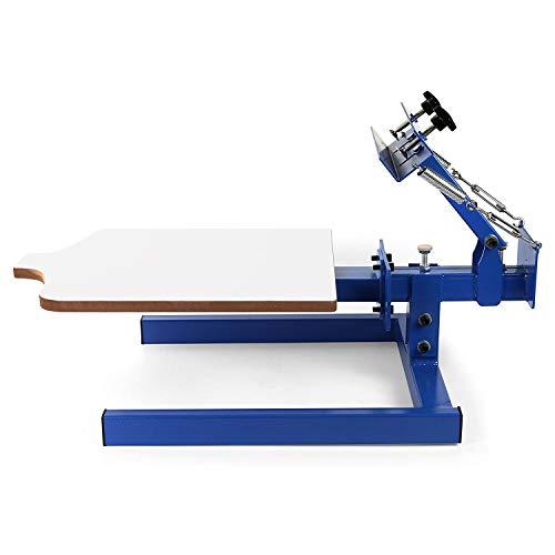 Impresora de serigrafía de 1 color 1 estación Máquina de impresión de impresión de madera
