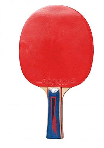 Donic-Schildkröt Unisex– Erwachsene SK TT-Schläger APPLEGREN 600 Tischtennis, rot/schwarz, 1,8 mm