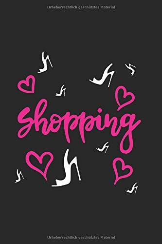 Einkaufslust für Absatzschuhe: Beauty Notizbuch 120 linierte Seiten